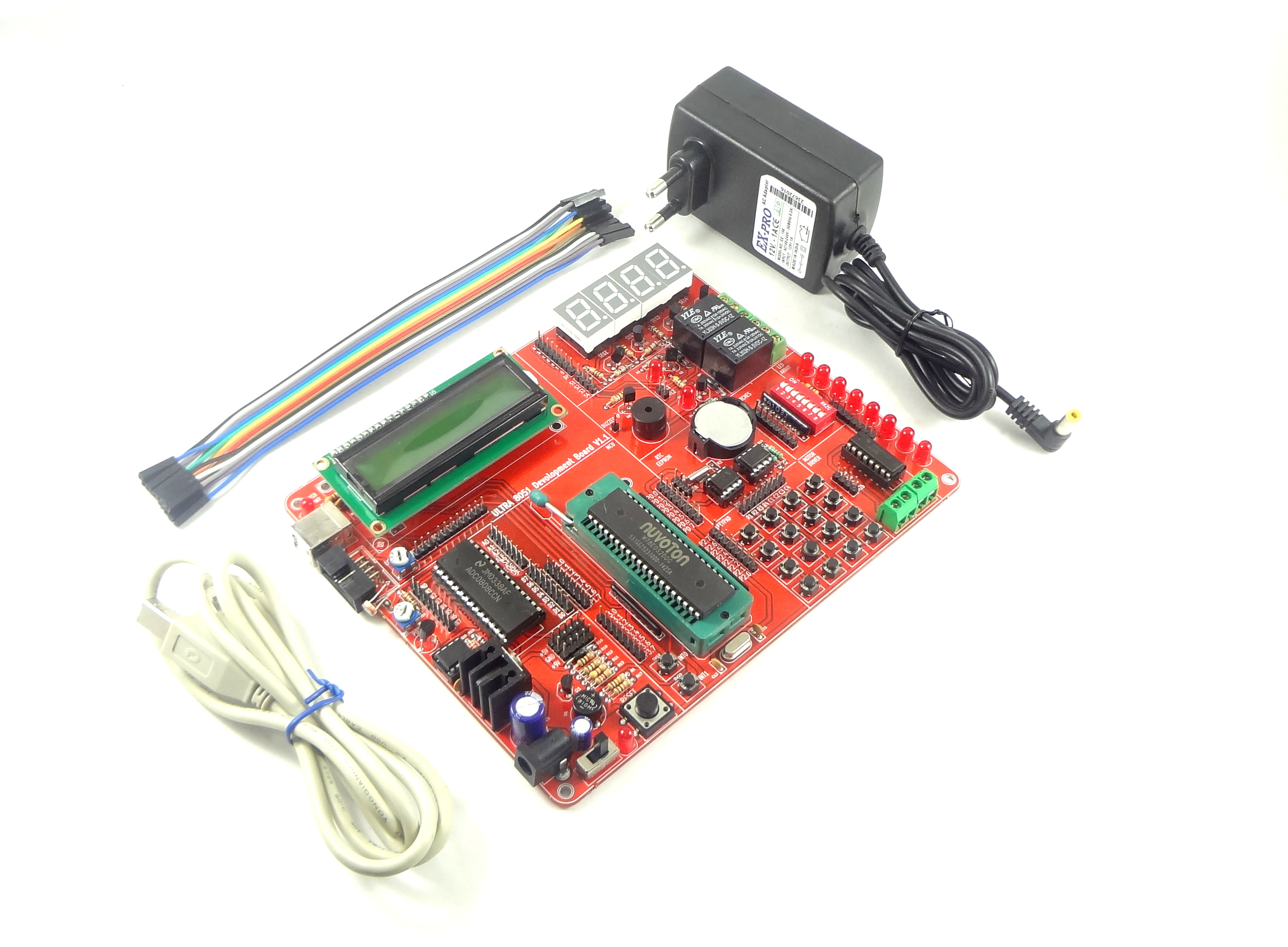Explore Embedded System Tools Tutorials And Workshops To Digital Clock Using 8051 Microcontroller With Rtc Ds1307 Development Board Ultra X51