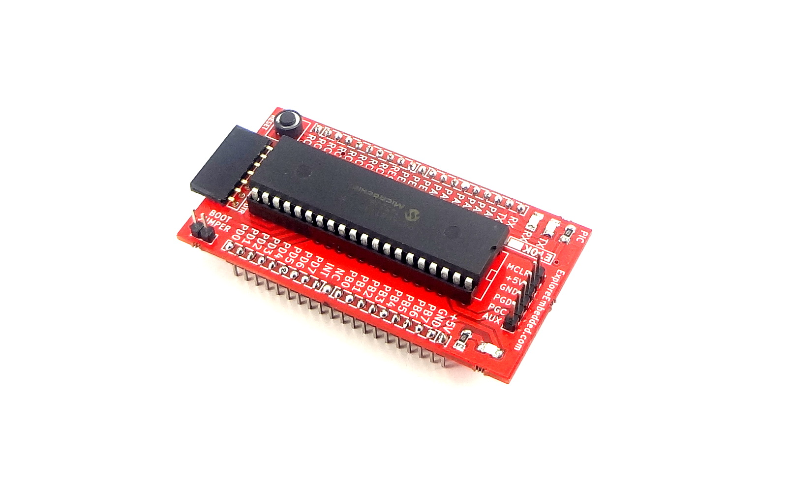 Explore embedded embedded system tools tutorials and workshops pic 40 pin breakout board with 16f877a baditri Images