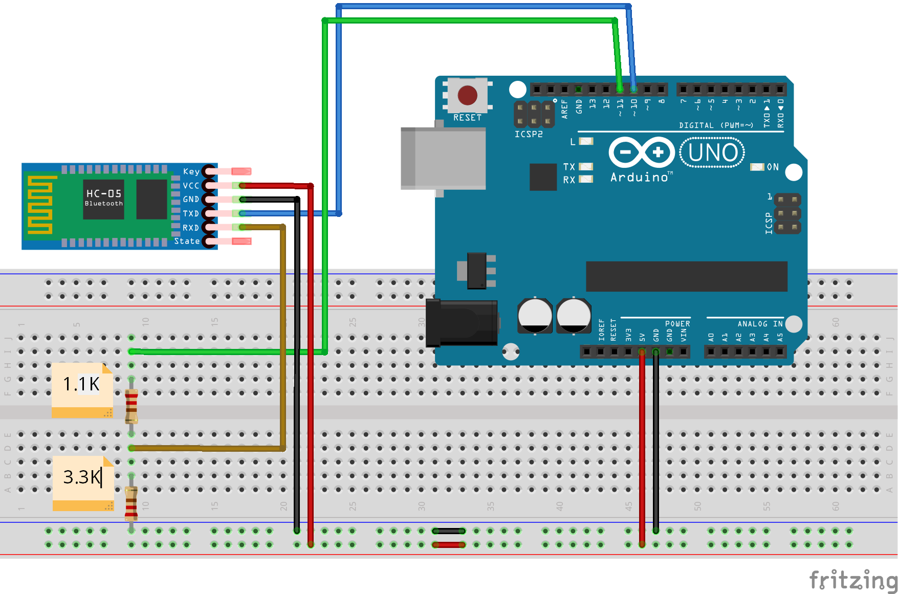193 besides Wireless Voltage Regulator likewise Laser Tri ire also Arduino How To Read And Control The Speed Of A 12v Four Wire Fan further Setting up Bluetooth HC 05 with Arduino. on arduino voltage divider