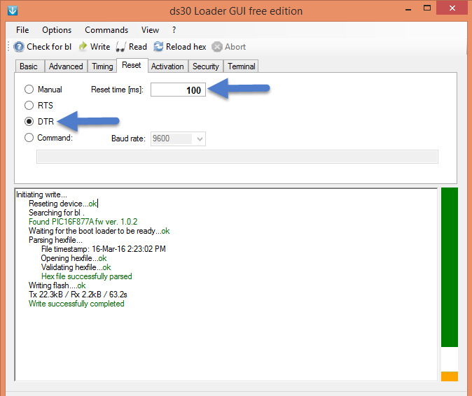 Uploading Hex File Using Ds30 Bootloader - Tutorials