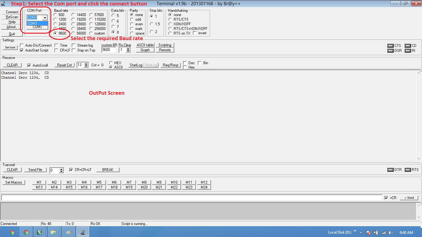 LPC1768: UART Programming - Tutorials