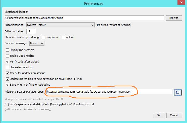 arduino download program from board