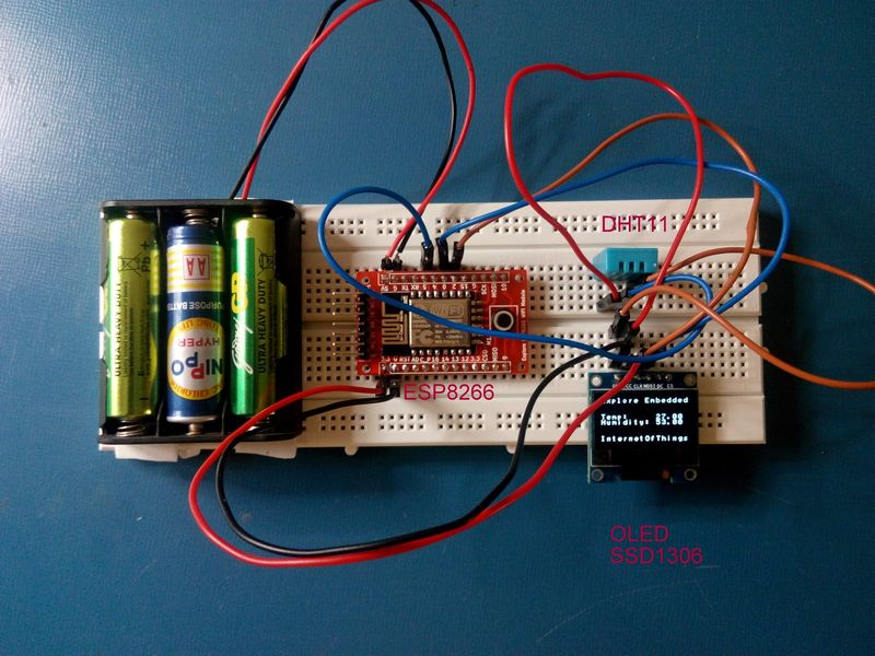 A simple IOT demo with Explore ESP8266 - Tutorials