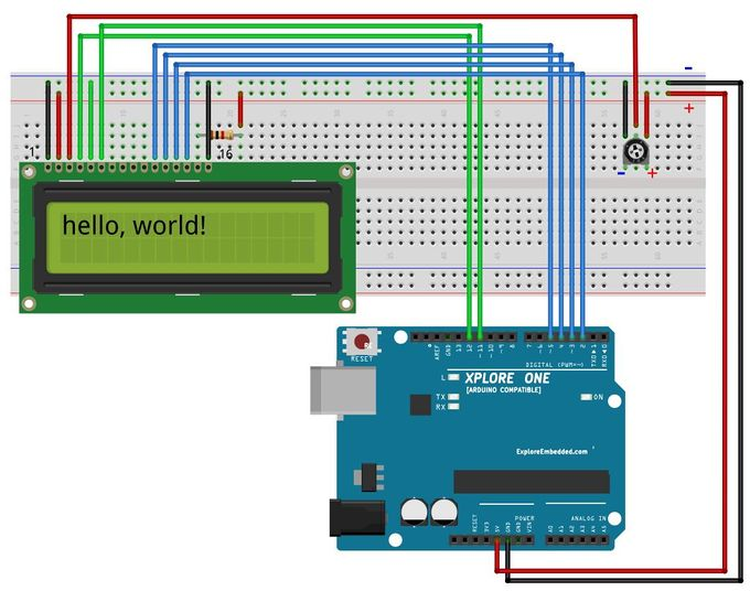 Display letters numbers and fun characters on lcd